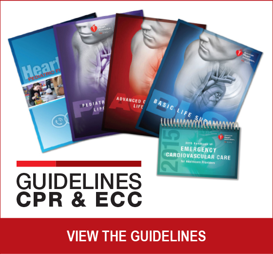Guidelines CPR & ECC View the Guidelines