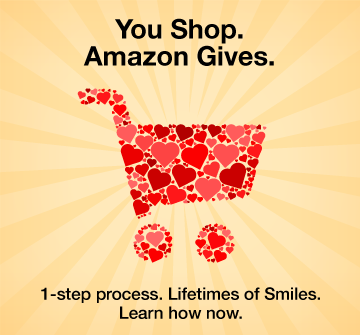 You Shop. Amazon Gives. 1-step process. Lifetimes of Smiles. Learn how now.