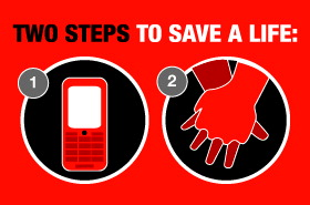 Two Steps To Save A Life