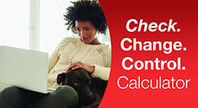 Check change control calculator